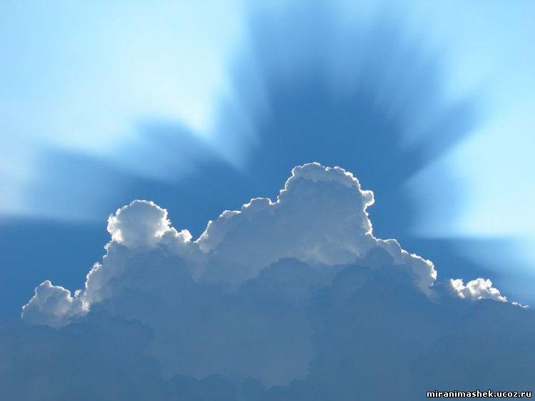 рисунок облака: