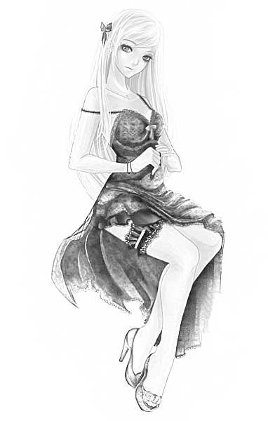 Картинки рисунки карандашом аниме