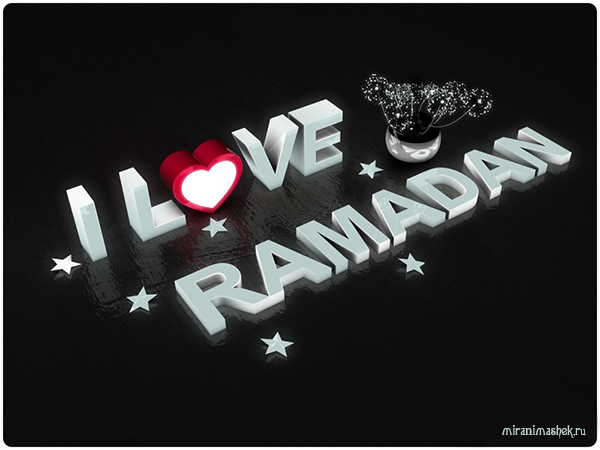 Happy Ramadan! I love Ramadan!